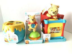 Winnie The Pooh - High Chair Toy, Activity Cube, Blankee, Ho