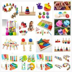 Wooden Toy Baby Kid Children Intellectual Developmental Educ