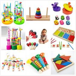 Wooden Toy Baby Kids Intellectual Developmental Educational