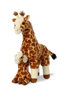 Aurora World Destination Nation Mama and Baby Plush Giraffe