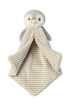 Aurora World Baby Pom Penguin Luvster Blanket Plush Toy, Gra