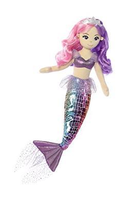 Aurora World Sea Sparkles Rainbow Mermaid Sea Iris Plush