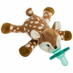 wubbanub soft toy and infant pacifier
