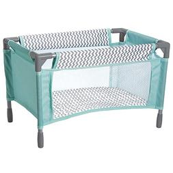 Adora Zig Zag Playpen Bed Crib Toy with Carry Bag for Baby D